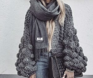 acne, autumn, and knit image
