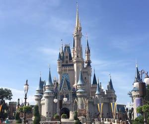 adventure, blue, and castle image