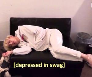 depressed, swag, and yoongi image