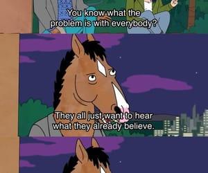 people, truth, and bojack horseman image