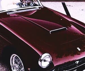 car, red, and burgundy image