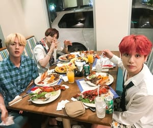 jin, v, and jhope image