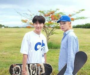 seokjin, yoongi, and jungkook image