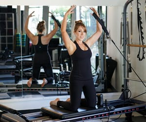 exercise, pilates, and fitness image