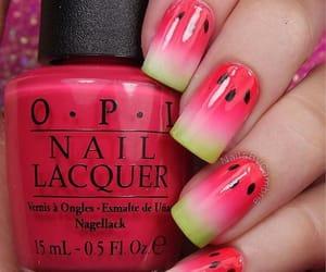 fruit, nail art, and nails image