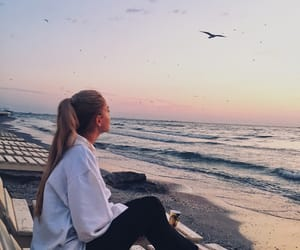 birds, blonde, and morning image