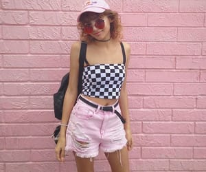 aesthetic, checkered, and clothes image