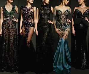 beauty, Couture, and design image