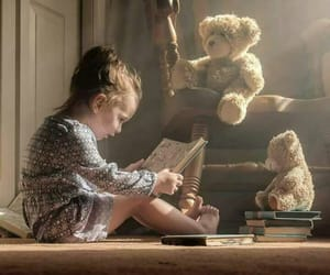 baby, teddy, and cute image