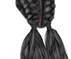 artsy, girl, and hair image