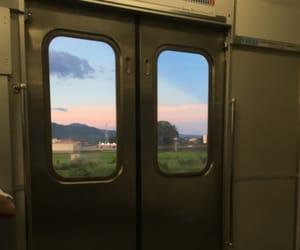 fukuoka, japan, and sunset image