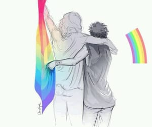 bisexual, larry is real, and boys image