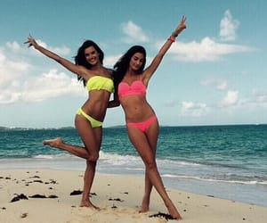 beach and friends image