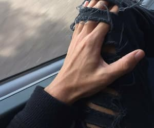 boy, hands, and hand image