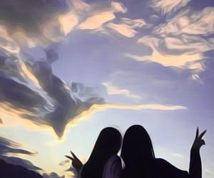 peace and sky image