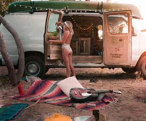 girl, camp, and retro image