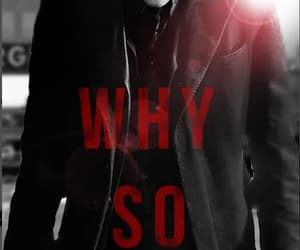 2008, joker, and why so serious image
