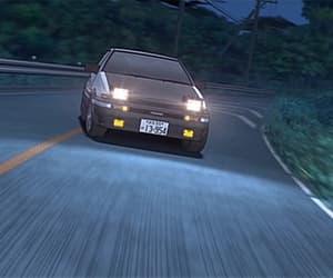car, gif, and takumi fujiwara image