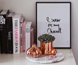 book, decor, and chanel image