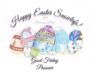 anna, easter, and eggs image