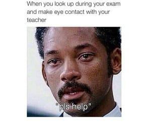 funny, exam, and teacher image