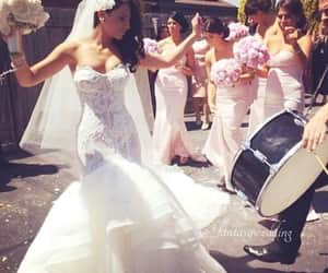 bride, party, and wedding goals image