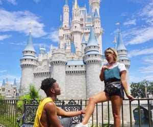 castle, proposal, and disney image