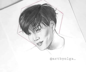 color pencil, kpop, and exo fanart image