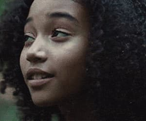 gif, hunger games, and rue image