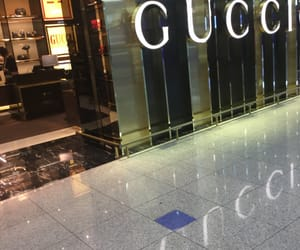 brands, gucci, and Versace image