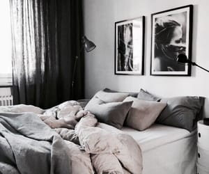 architecture, bedroom, and bed image