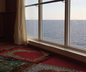 allah, mosque, and sea image