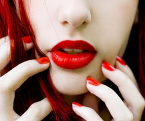 girl, sexapil, and lips image