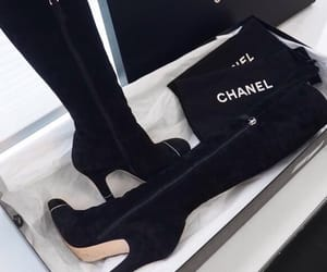 shoes, chanel, and girls image