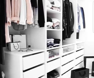 closet, clothes, and fashion image
