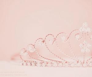 pink, princess, and tiara image