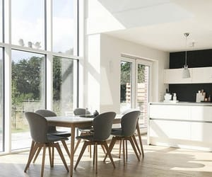 dinning room, fashion, and house image