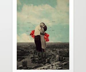 art, city, and couple image