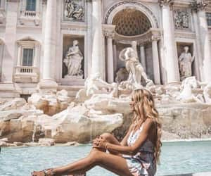 europe, fashion, and fountain image
