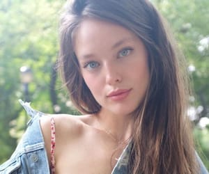 Emily Didonato, jacket, and red dress image