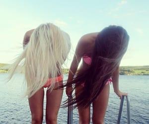 alternative, best friend, and blonde image