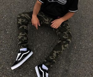 boy, cargo, and streetwear image