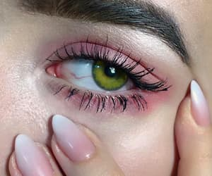 nails, eyes, and eye image
