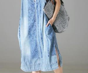 etsy, sleeveless dress, and pocket dress image