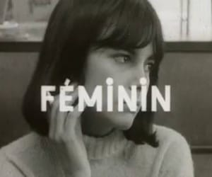 feminin, black and white, and quotes image