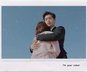 caps, couple, and Korean Drama image
