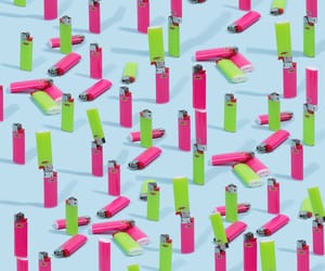 lighters, pink and green, and candyminimal image