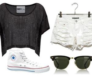 all star, sunglasses, and t-shirt image