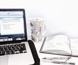 college, homework, and school image