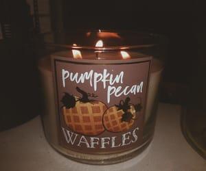 autumn, flame, and november image